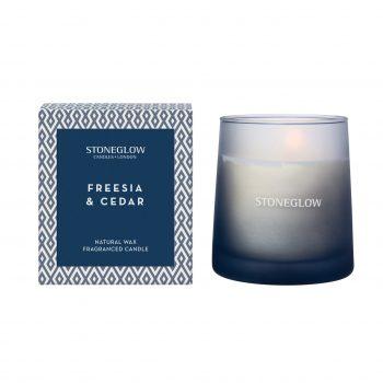Freesia & Cedar Tumbler Candle